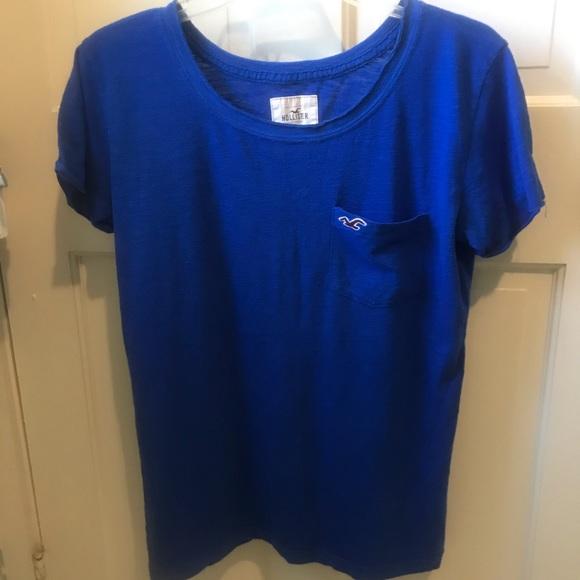 Hollister Tops - Royal blue t-shirt